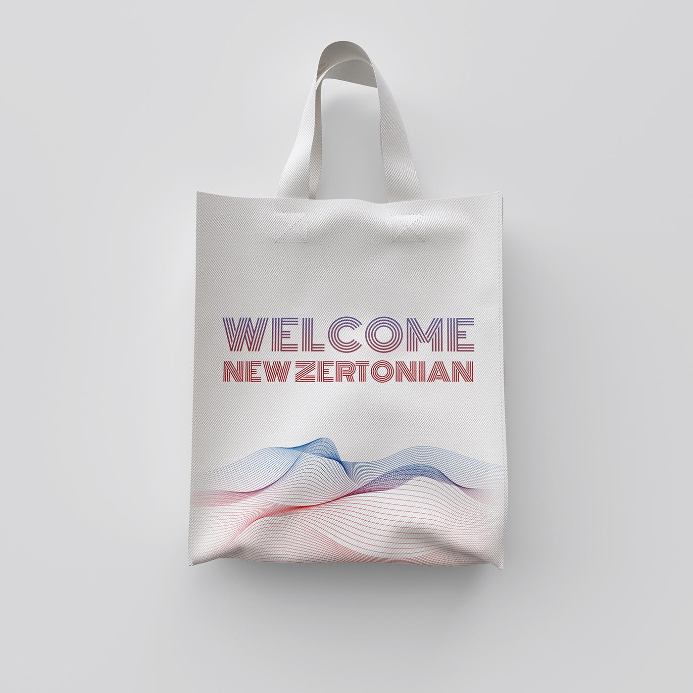 עיצוב לחברה, מתנה לעובדים, משאבי אנוש, זרטו, דפוס, תיק בד מודפס