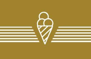 שלטים, שלטים מאורים, מיתוג, מיתוג חנות, גלידה, גולדה, מדבקות, שילוט, מדבקות ויטרינה, עיצוב גרפי, עיצוב חנות,