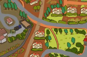 מפת נורדיה, מפה, עיצוב גרפי, איור, פרינט, דפוס